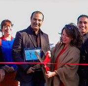 Our ribbon has been cut…